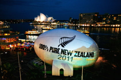 Tourism NZ – Rugby Ball Sydney
